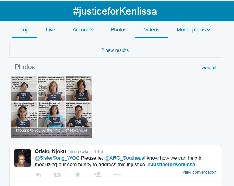 Kenlissia-Jones-abortion-supporters-