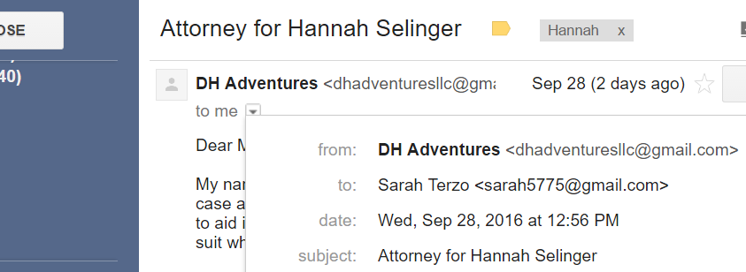 email of lawyer