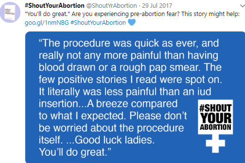 shout your abortion